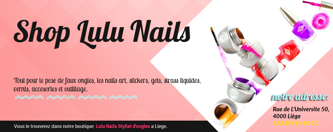 shop nails accessories liege